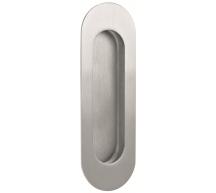 Stainless Steel Oblong Flush Pull
