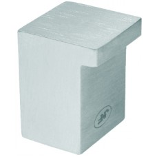 Stainless Steel Square Cupboard Knob 19mm