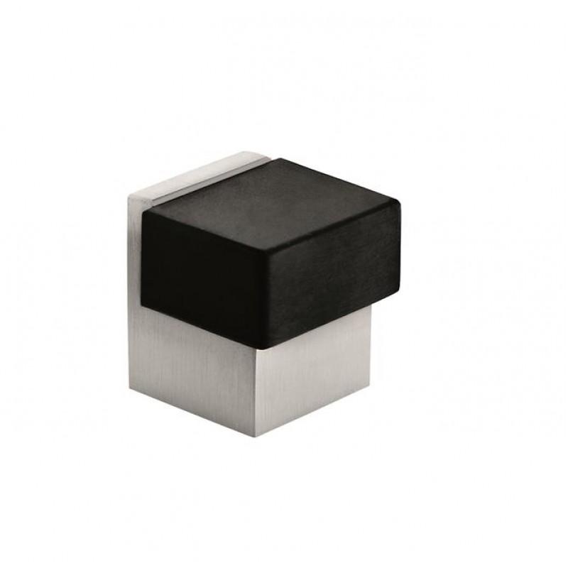 square floor door stop with teflon stop. Black Bedroom Furniture Sets. Home Design Ideas