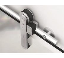 Complete Ten Round Sliding Door Kit for Glass Doors