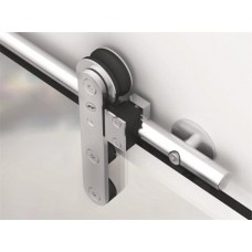 Complete Ten Round Sliding Door Kit for Glass Doors