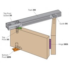 Bi-Fold Folding Cupboard Slide