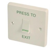Low Traffic Press Exit Button