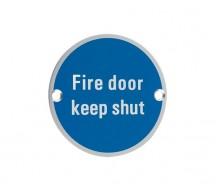 Fire Door Keep Shut SA