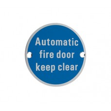 Automatic Fire Door Keep Clear SA