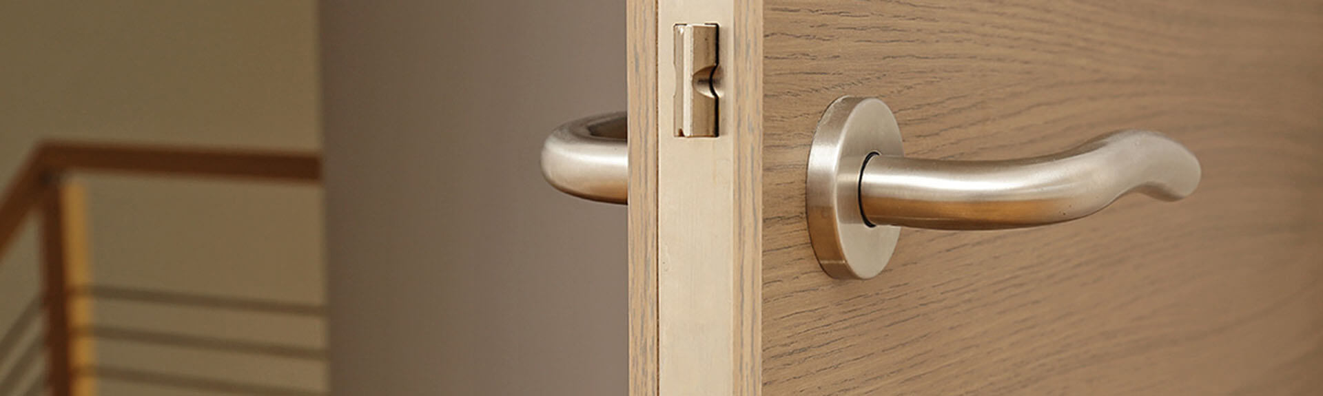 Your solution for ready-to-install doorsets with ironmongery