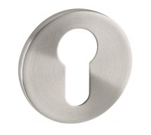 Stainless Steel Euro Profile Escutcheon