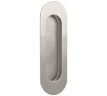 11785 - Stainless Steel Oblong Flush Pull