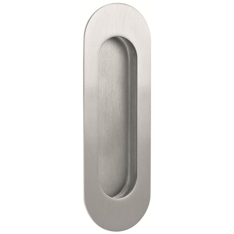 11785 - Stainless Steel Oblong Flush Pull
