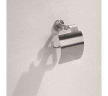 91025 - Pura Toilet Roll Holder with Cover