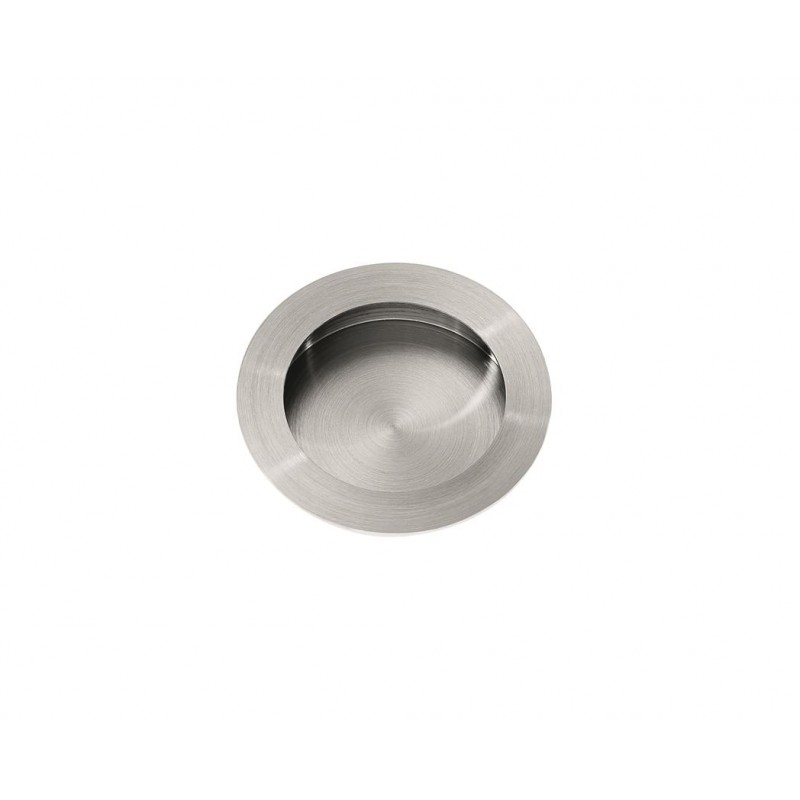 11784 - Stainless Steel Circular Flush Pull
