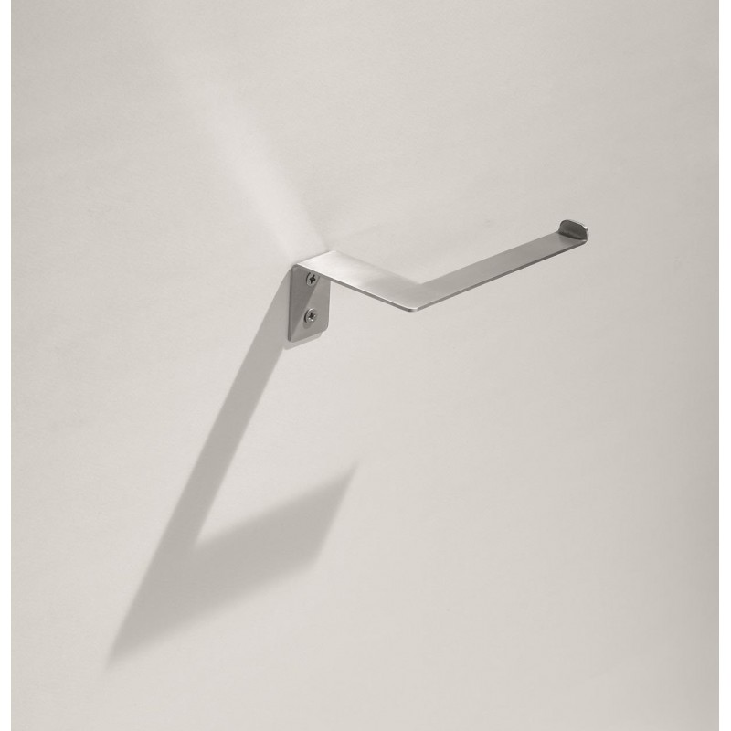 91006 - 2D Stainless Steel Toilet Roll Holder