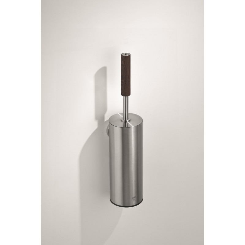 91000 - Wall Mounted Toilet Brush Holder with Wenge Grip
