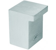 11737/2 - Stainless Steel Square Cupboard Knob 19mm