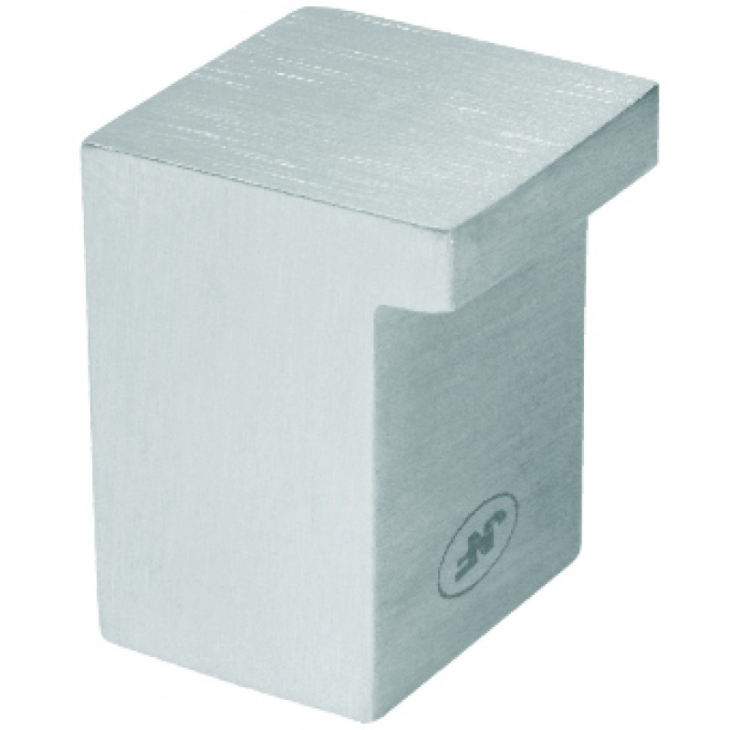 11737/1 - Stainless Steel Square Cupboard Knob 12mm