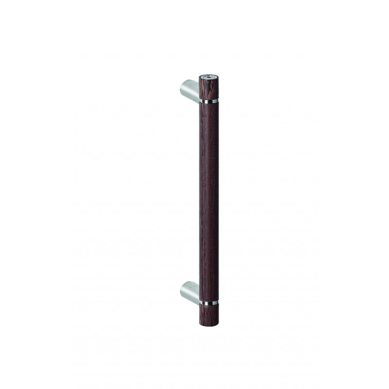 11711/3 - Pillared Pull Handle with Wenge Grip 600mm c/c