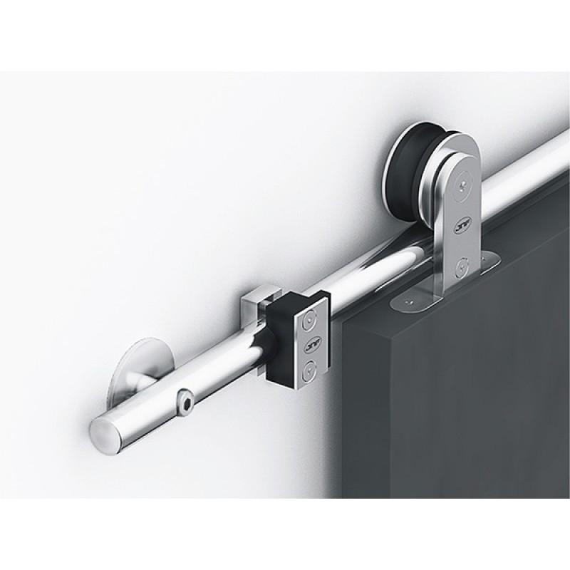 90401 - Complete Ten Round Sliding Door Kit for Timber Doors