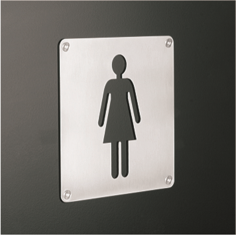 11650 - Stainless Steel Signage