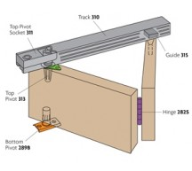 90203 - Bi-Fold Folding Cupboard Slide