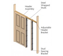 90108 - Concealed Sliding Door Gear