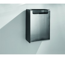 91042 - Stainless Steel Wall Mounted Waste Bin