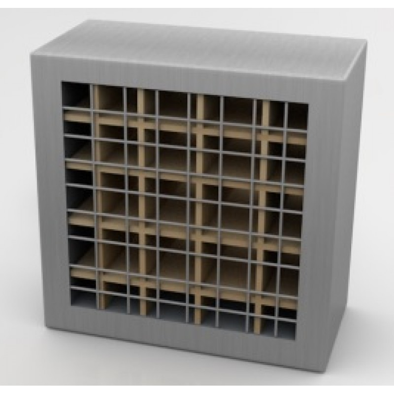 1128 - Intumescent Block with Grill Covers
