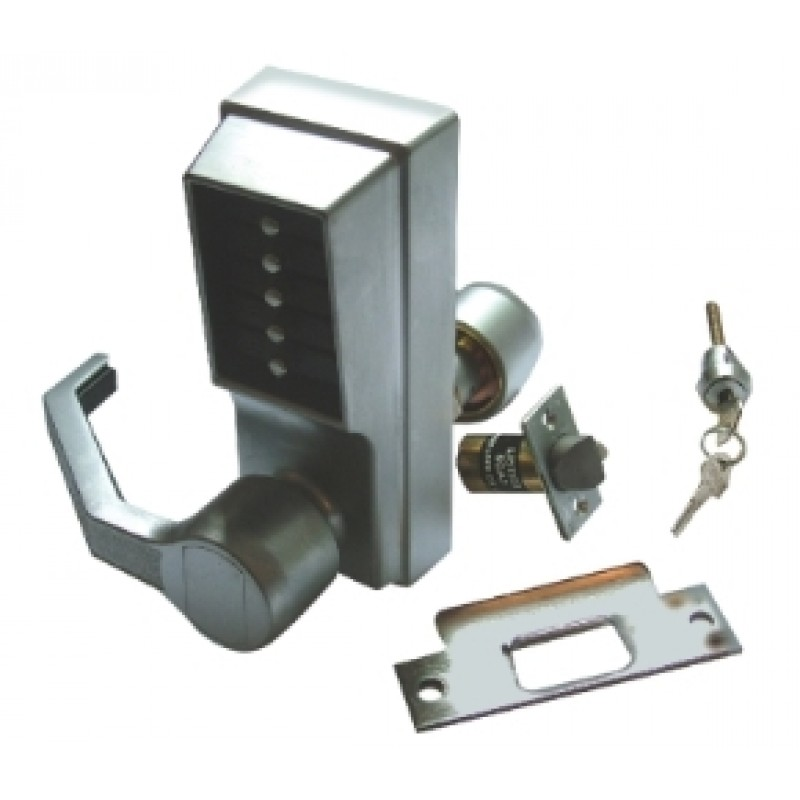 70105L - Digital Combination Lock with Lever Handle
