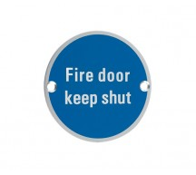 12840 - Fire Door Keep Shut SA