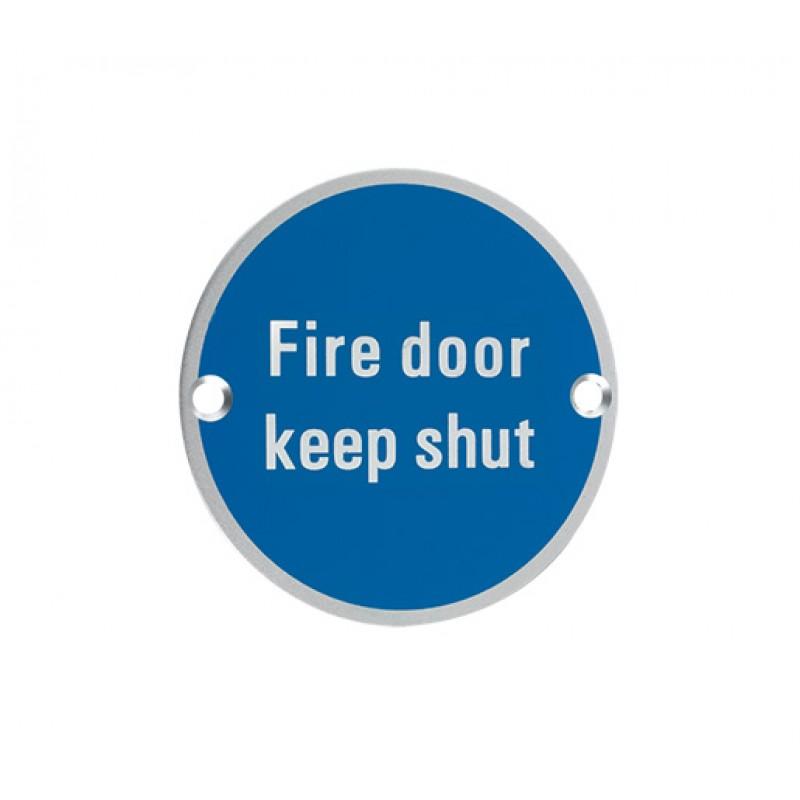 12840 - Fire Door Keep Shut SA