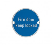 12841 - Fire Door Keep Locked SA