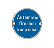 11643 - Automatic Fire Door Keep Clear